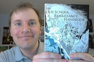 Me with OSR Handbook proof
