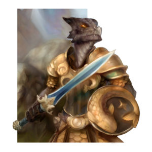 Lizardling Knight