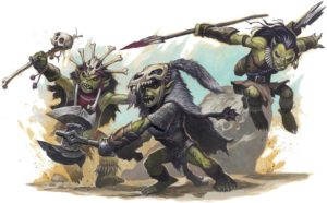 Goblins from D&D 4E; artist unknown